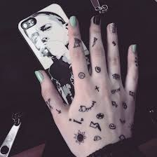 black bmw case cool cute eminem funny hand iphone5 nails