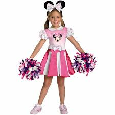 Mickey Mouse Costume Halloween Mickey Mouse Clubhouse Minnie Mouse Cheerleader Toddler Halloween
