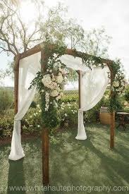 Pergola Wedding Decorations by Get 20 Wedding Arbor Decorations Ideas On Pinterest Without