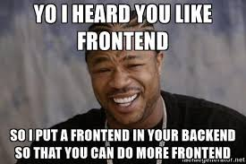 Web Developer Meme - frontend and javascript resources for backend developers