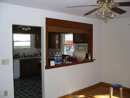 Kitchen Pass Through Ideas Kitchen Pass Through Add Some Molding Around To It