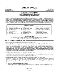 resume objective for accountingstaff accountant resume
