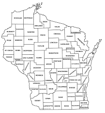 Map Of Wisconsin Cities Map Of Counties In Wisconsin Uptowncritters