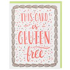 free bday cards gluten free birthday card happy birthday cards smudge ink