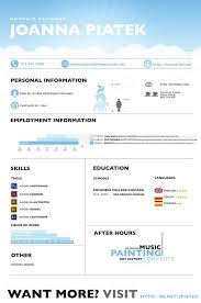 creative resume headers 24 best cv images on pinterest curriculum clouds and cooking