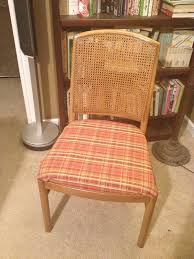 How To Reupholster A Dining Chair Seat  Steps With Pictures - Dining room chair reupholstering