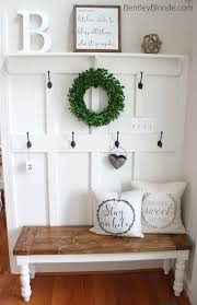 small mudroom bench small entryway bench with hooks