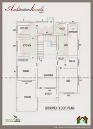 bed room square feet house plan kerala plans dec gf