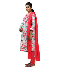 ziva maternity wear buy ziva maternity wear white cotton maternity online at best