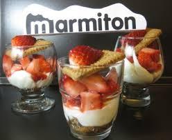 comment cuisiner la mascarpone fraises au mascarpone et aux speculoos en verre recette de fraises
