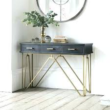 small glass console table small narrow console table narrow console table for hallway com