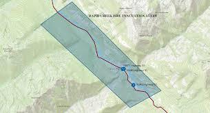 Wildfire Bc Map 2015 by Evacuation Alert U2013 Poplar Creek Area Northwest Of Lardeau Bc