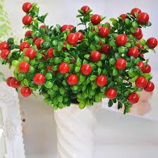 home decoration artificial plants simulation of fruit 6 branch