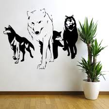 wolf wall stickers the stickers high quality wolf wall stickers wolf wall stickers lots vinyl wall decal