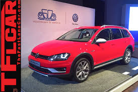 volkswagen gli hatchback 2017 vw golf sportwagen alltrack 2015 new york auto show one take