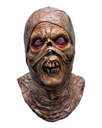 zombie contacts spirit halloween egyptian mummies zombie mummies mask for halloween horror shop com