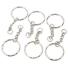 key ring rings images Wholesale car key ring 50pcs keyring blanks 55mm silver tone jpg