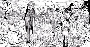 halloween coloring pages gekimoe u2022 22298