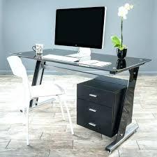 Small Glass Computer Desk Small Desk With Storage Small Desk With Shelf Furniture Black