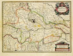 Dvc Map Antiquemaps Fair Map View Rare Old Antique Map Parma Mantua