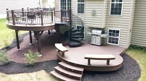 five weekend diy deck projects salter spiral stair