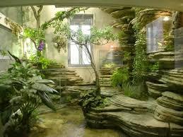 giardini interni casa realizzare giardino interno casa