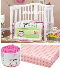 pink owl crib bedding owl baby bedding sets for girls baby bed