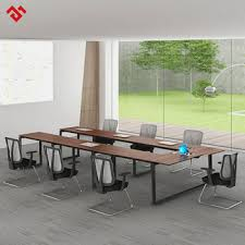 U Shaped Boardroom Table Modern U Shaped Conference Table For 10 Person Foldable Meeting