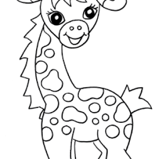 coloring pages baby zoo animals archives mente beta