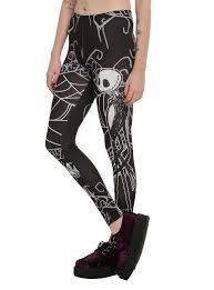 skeleton leggings spirit halloween the nightmare before christmas jack u0026 sally leggings topic
