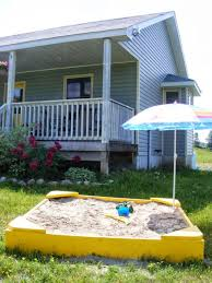 Backyard Sandbox Ideas The Complete Guide To Imperfect Homemaking How To Build A Simple