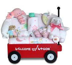 wagon baby baby girl gift deluxe welcome wagon by silly phillie