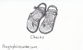 footwear sketches the graphic recorder