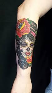 depiction tattoo gallery tattoos nick clark dia de los
