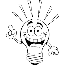 I Have An Idea Light Bulb Coloring Pages Download Print Online Light Coloring Page