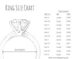 ring size ring size chart elha