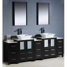 Bathroom With Two Separate Vanities by Fresca Bathroom Vanities On Sale Sears