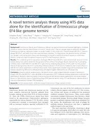 a novel termini analysis theory using hts data alone for the