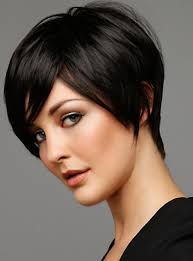 pic of black women side swept bangs and bun hairstyle short black haircut with side swept bangs for 2014 pretty designs