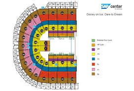 sap center at san jose san jose tickets schedule seating