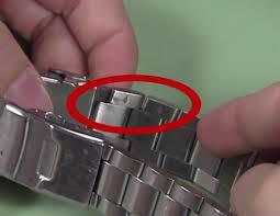 tissot bracelet links images Those little arrows inside the bracelet png