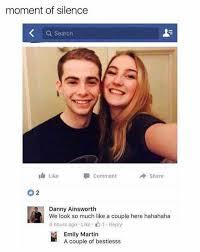 Cute Couple Meme - dopl3r com memes moment of silence we look like a couple a