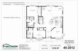 Floor Plan Standards The Hallmark Featured Floor Plans Hallmark Southwest