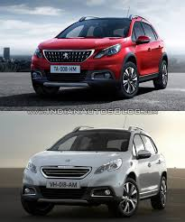 new peugeot sports car 2016 peugeot 2008 u2013 old vs new