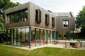 Eco Home Design Uk Modern London Eco House Self Build Co Uk