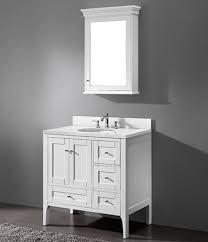 36 Inch Bathroom Vanity White Bathroom The 25 Best 36 Inch Vanity Ideas On Pinterest Regarding