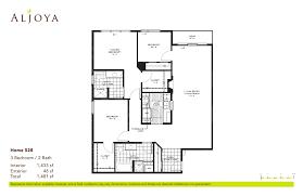 Eames House Floor Plan Floor Plans U0026 Features Aljoya Thornton Place North Seattle Wa