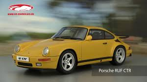 porsche ruf ctr 2017 ck modelcars video porsche ruf ctr yellow bird gt spirit youtube