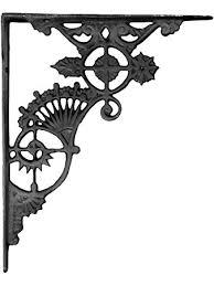 ornate cast iron shelf bracket 11 x 9 home improvement