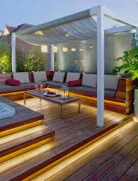 Backyard Deck Pictures by Best 25 Outdoor Spa Ideas On Pinterest Jacuzzi Outdoor